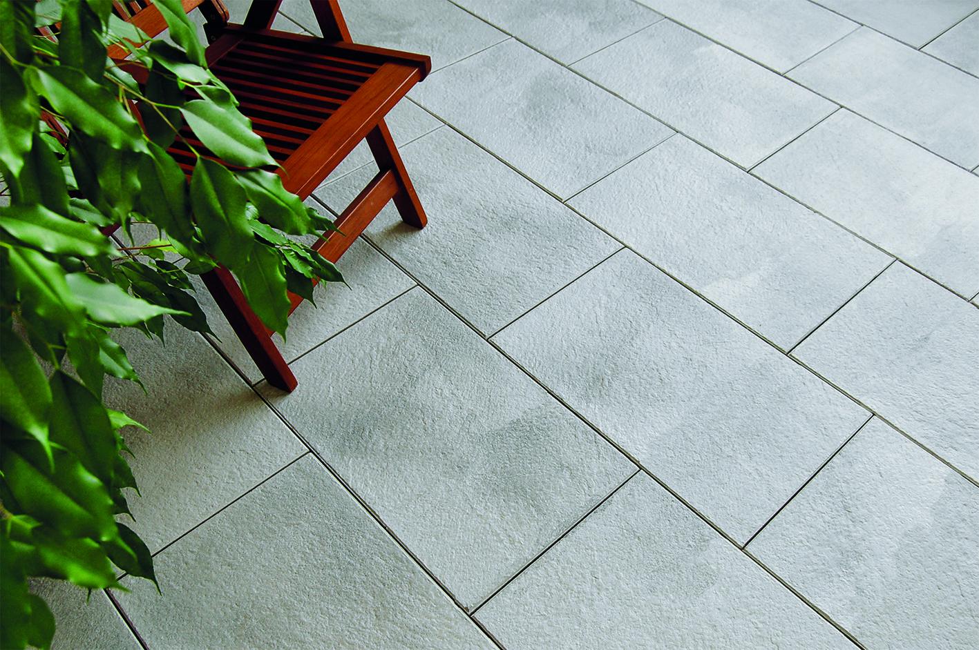 """häusler trend - """"silbergrau marmoriert """" passen auf jede #terrasse"""