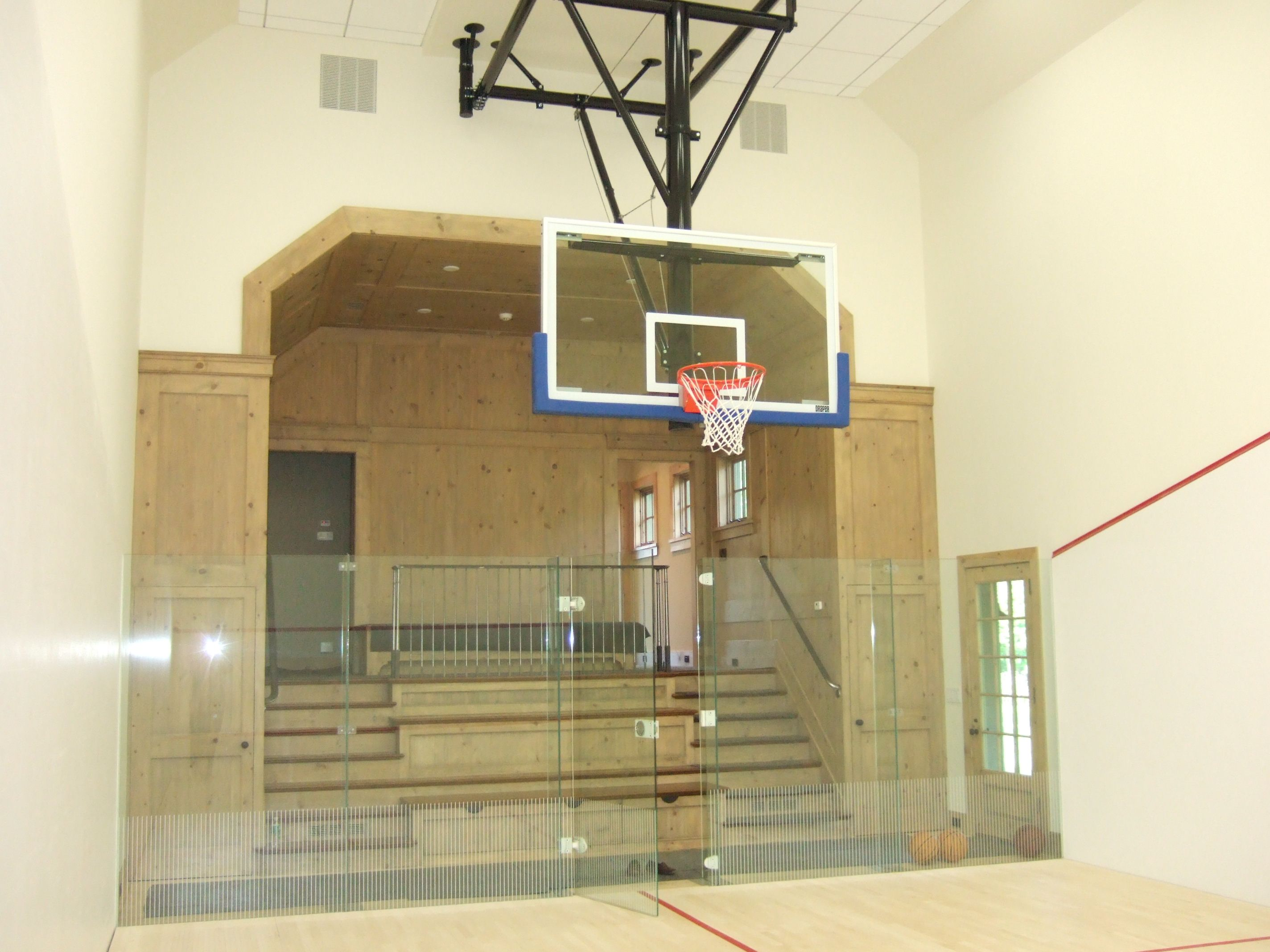 Squash Court Basketball Court Greenwich Ct Brooks And Falotico Associates Fairfield County Architects Residential Architecture Design Firms Design