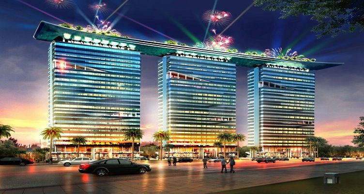 http://www.alphathum.co.in/  The Alphathum is an incredible blend of high-end technology and breath-taking luxury.The newest and most iconic address in Noida Sector 90. The commercial tower is designed to offer a heady mix of luxury offices .