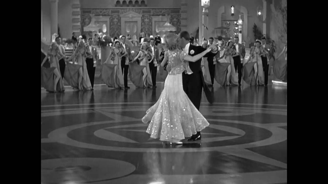 Fred Astaire, Ginger Rogers - The piccolino dance | Steel