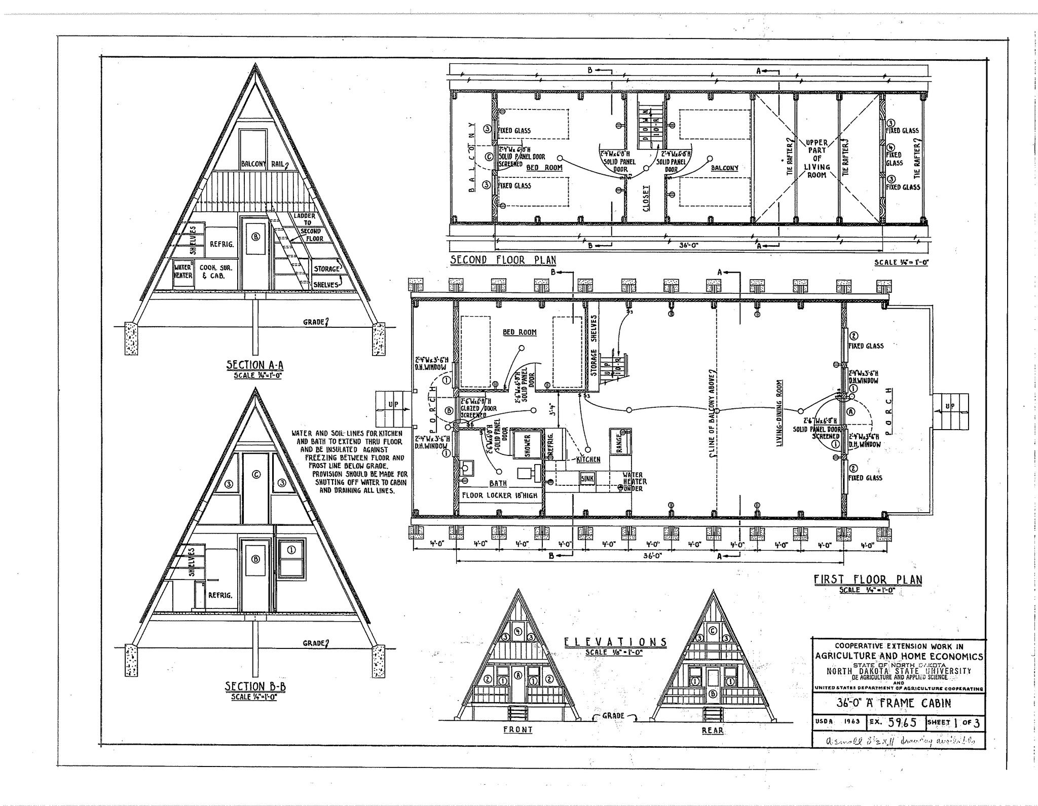 a frame house plans free   Дома   Pinterest   House, Cabin and Lake ...