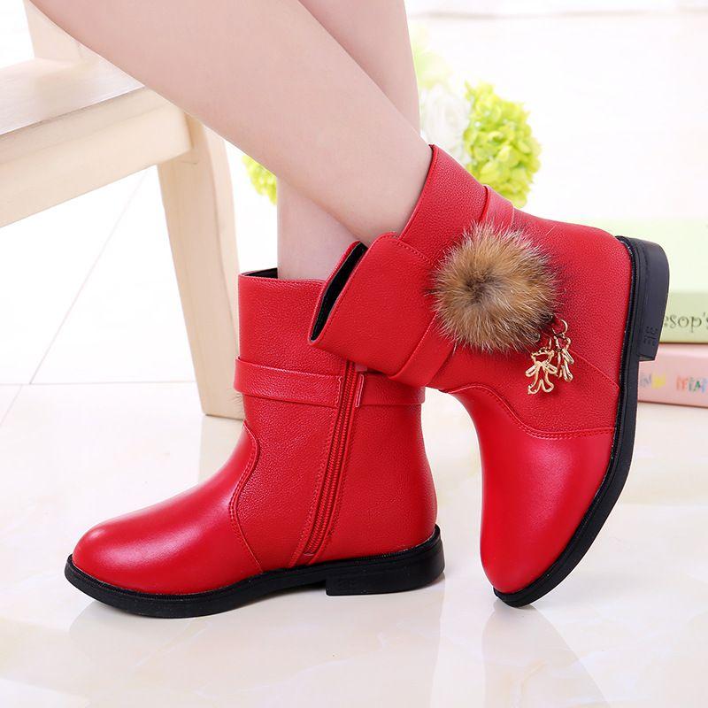 d1cb91d4425 2016 calientes del invierno botas niñas martin botas ocasionales de los  niños zapatos de la princesa