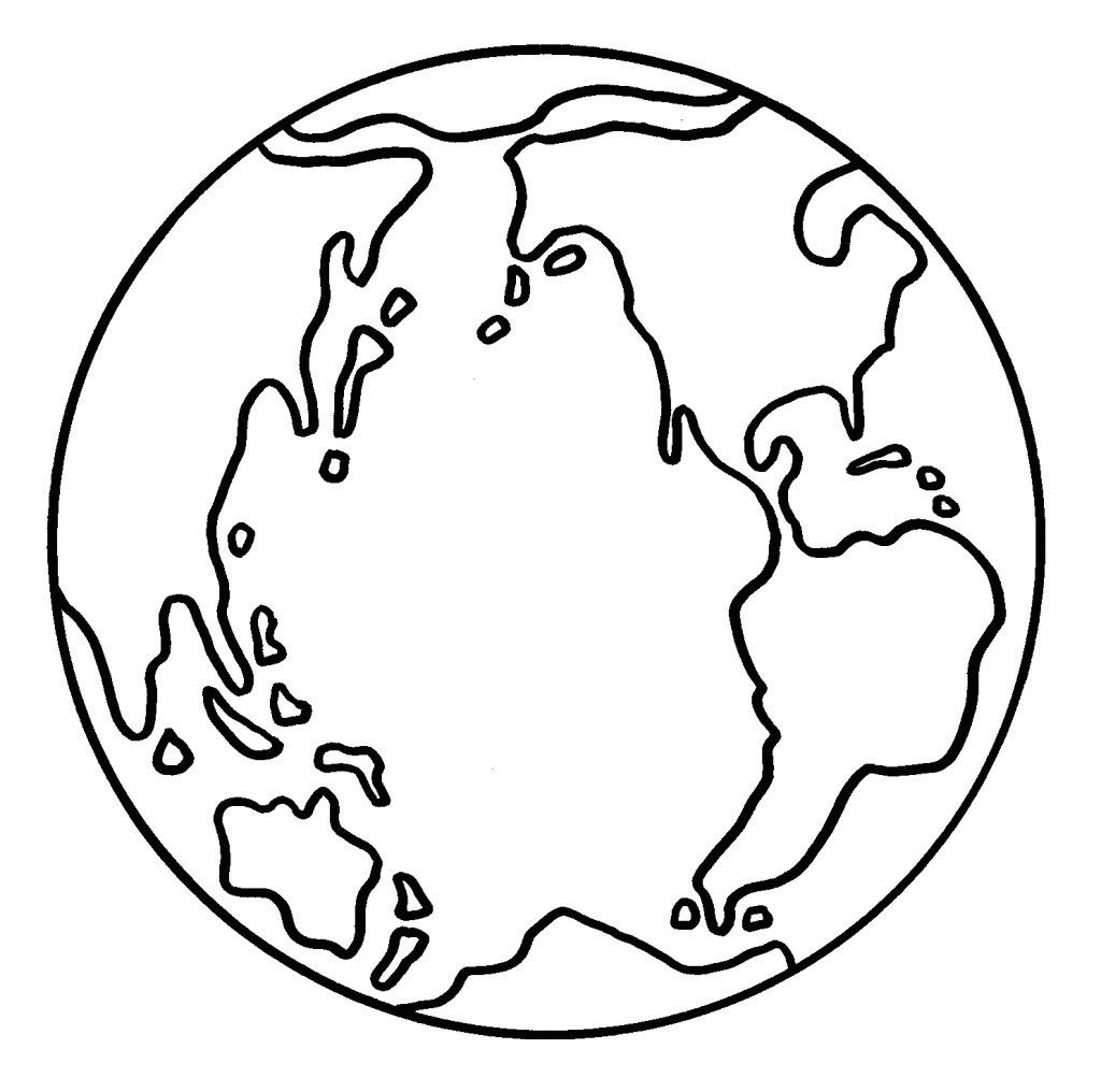 Earth Day Coloring Pages - Preschool and Kindergarten | Earth ...