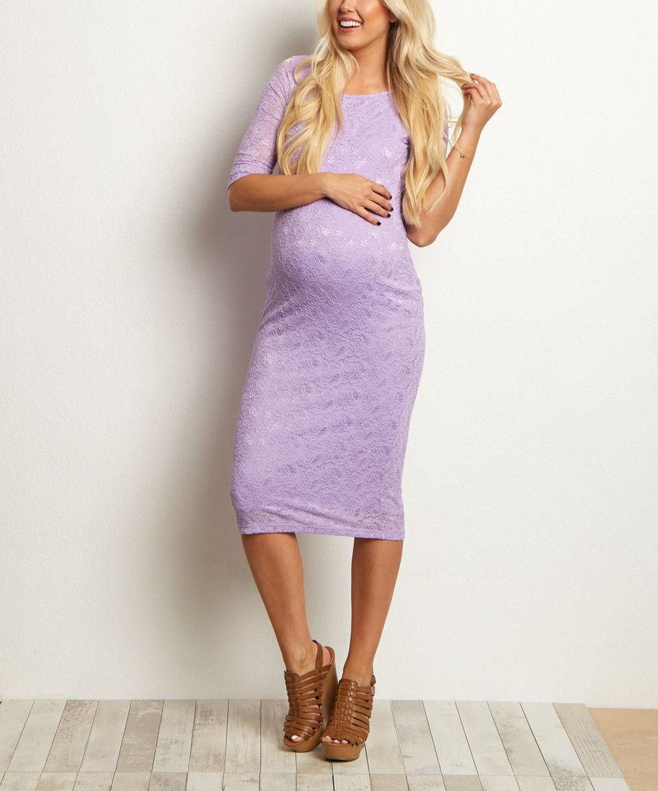 Look at this zulilyfind pinkblush purple lace maternity dress by pinkblush purple lace maternity dress by pinkblush maternity zulilyfinds ombrellifo Image collections