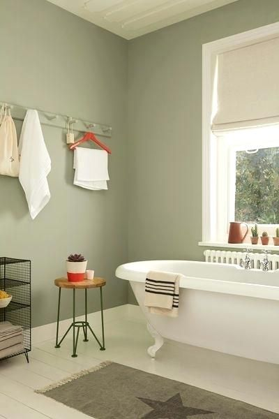 Best Color Green Bathroom