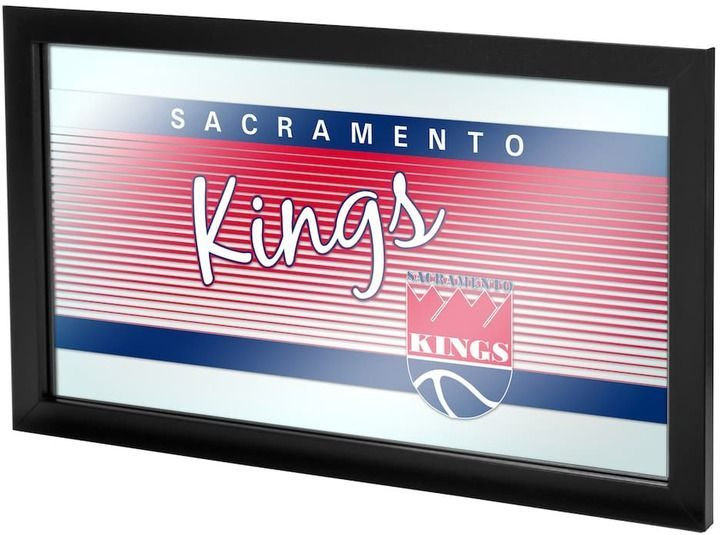 NBA Sacramento Kings Hardwood Classics Framed Logo Wall Art