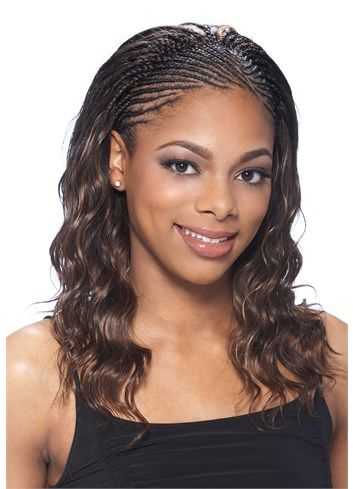 Cornrows in the front hair weave in the back black hairstyles crochet braids human hair type human hair great for straight crochet braids model model pmusecretfo Image collections