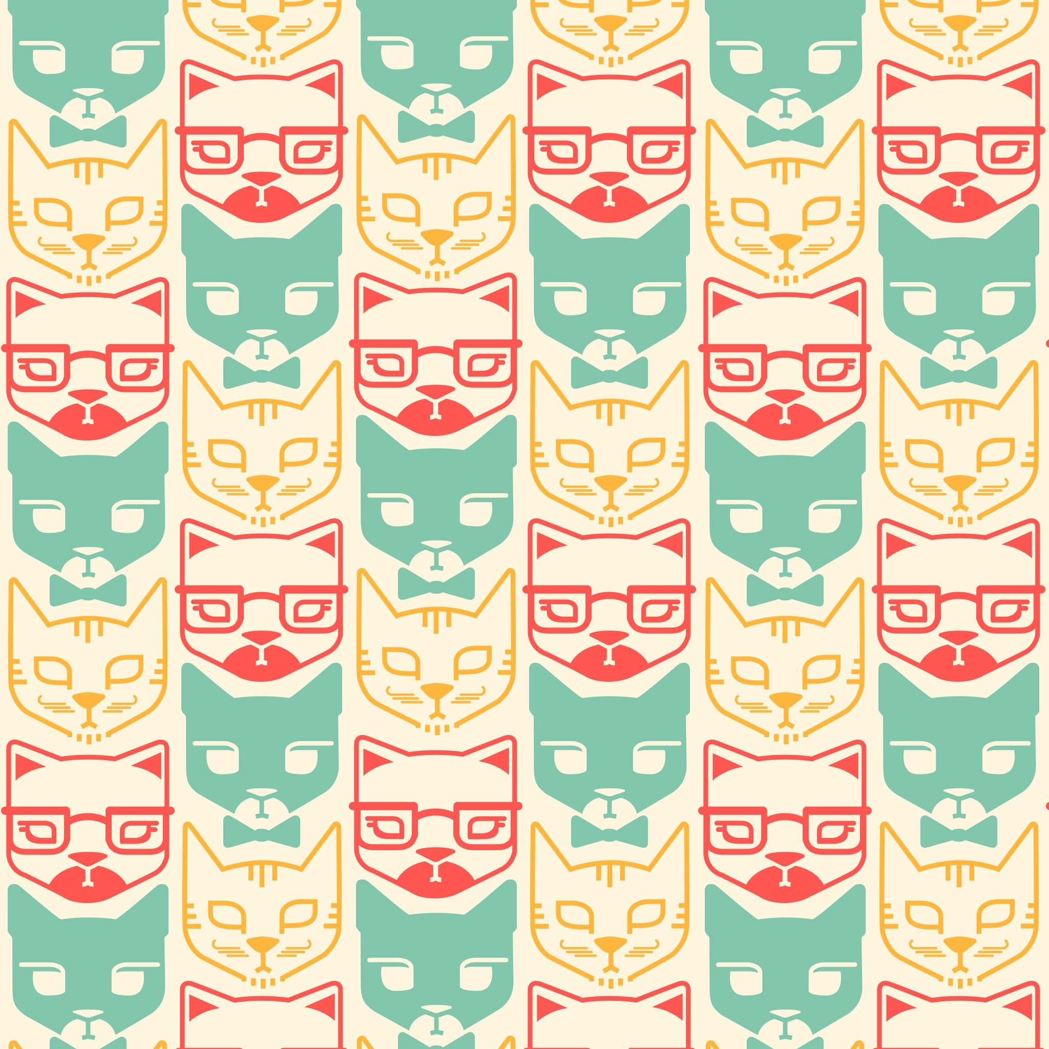 cat pattern iphone wallpaper 69679 trendnet