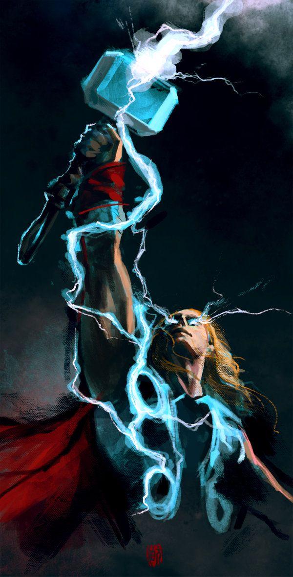 Thor vfx tshirt concept by - Thor art wallpaper ...