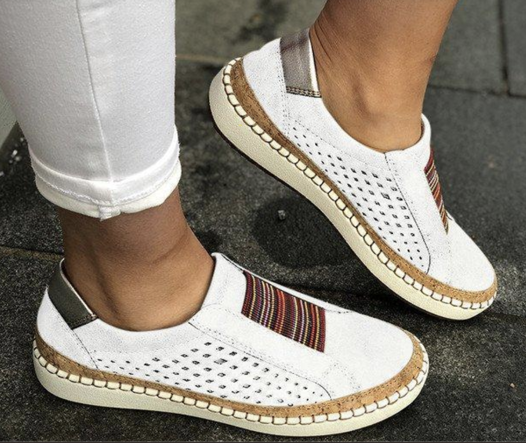 Details about  /Womens Flat Shoes Slip On Loafers Casual Comfy Shoes Large Size Athletic Shoes U
