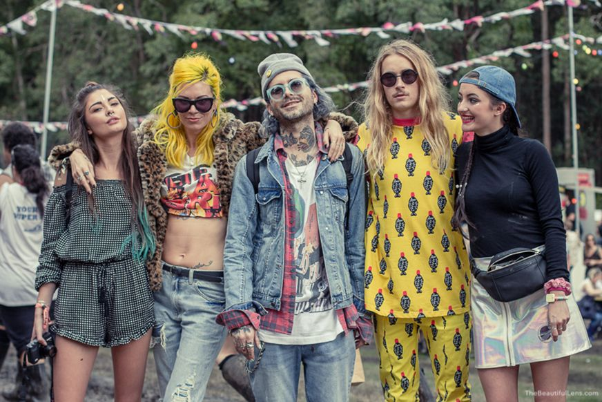 Splendour in the Grass | festival } style | model | bohemian | vintage | byron Bay | Brahminy Exchange: SPLENDOUR