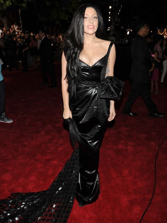2013 Vmas Hairs The Deal Fashion Nice Dresses Lady Gaga
