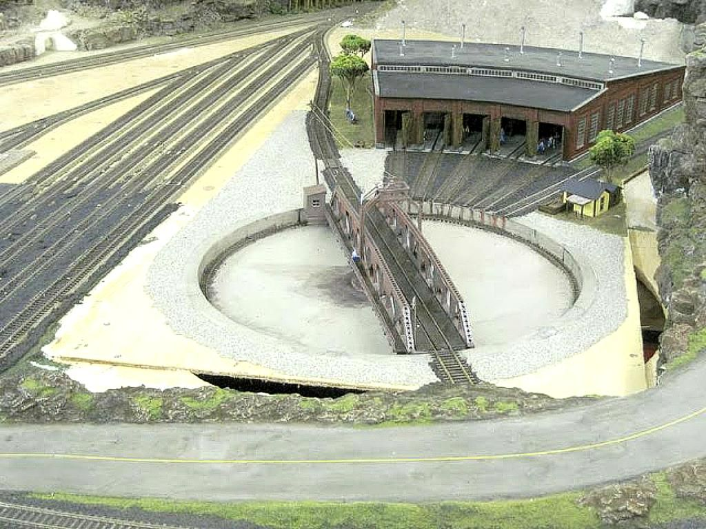 Distance of Roundhouse From Turntable - Model Railroader ... on railroad shops, on30 track plans, walthers track plans, 4x8 ho track plans, railroad roundhouses chicago, railroad yards in chicago, railroad structure plans, lionel train track layout plans, o gauge turntable plans, railroad water tower plans, railroad roundhouses missouri, railroad engine shed plans, ho scale turntable plans, railroad yard design, railroad turntable, railroad stations, railroad tracks, railroad roundhouses in ohio,