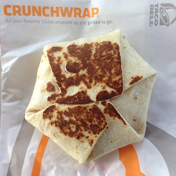 Pin for Later: The 15 Best Fast-Food Releases From 2015 Taco Bell: Free AM Crunchwrap Supreme