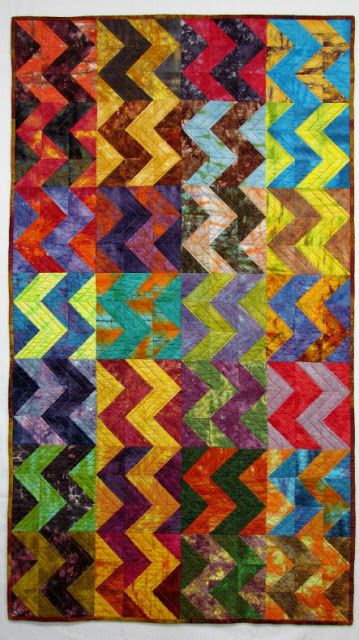 Exuberant Color: Hand dyed fabric quilts