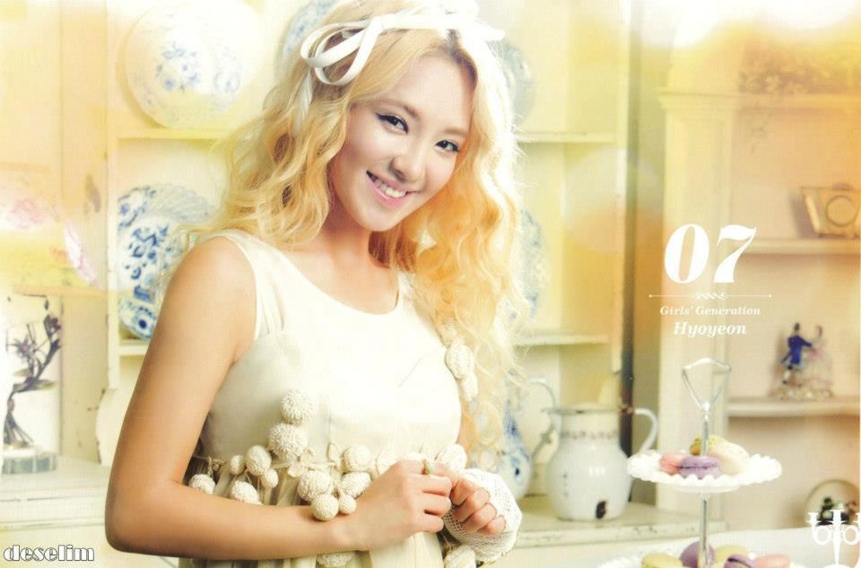 HyoYeon official desk calendar 2013 ! ♥