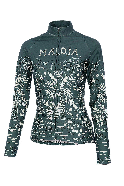 Maloja MarrakeshM Women's Bike Jacket, Azur, Women's Cycling Jacket – f riders inc