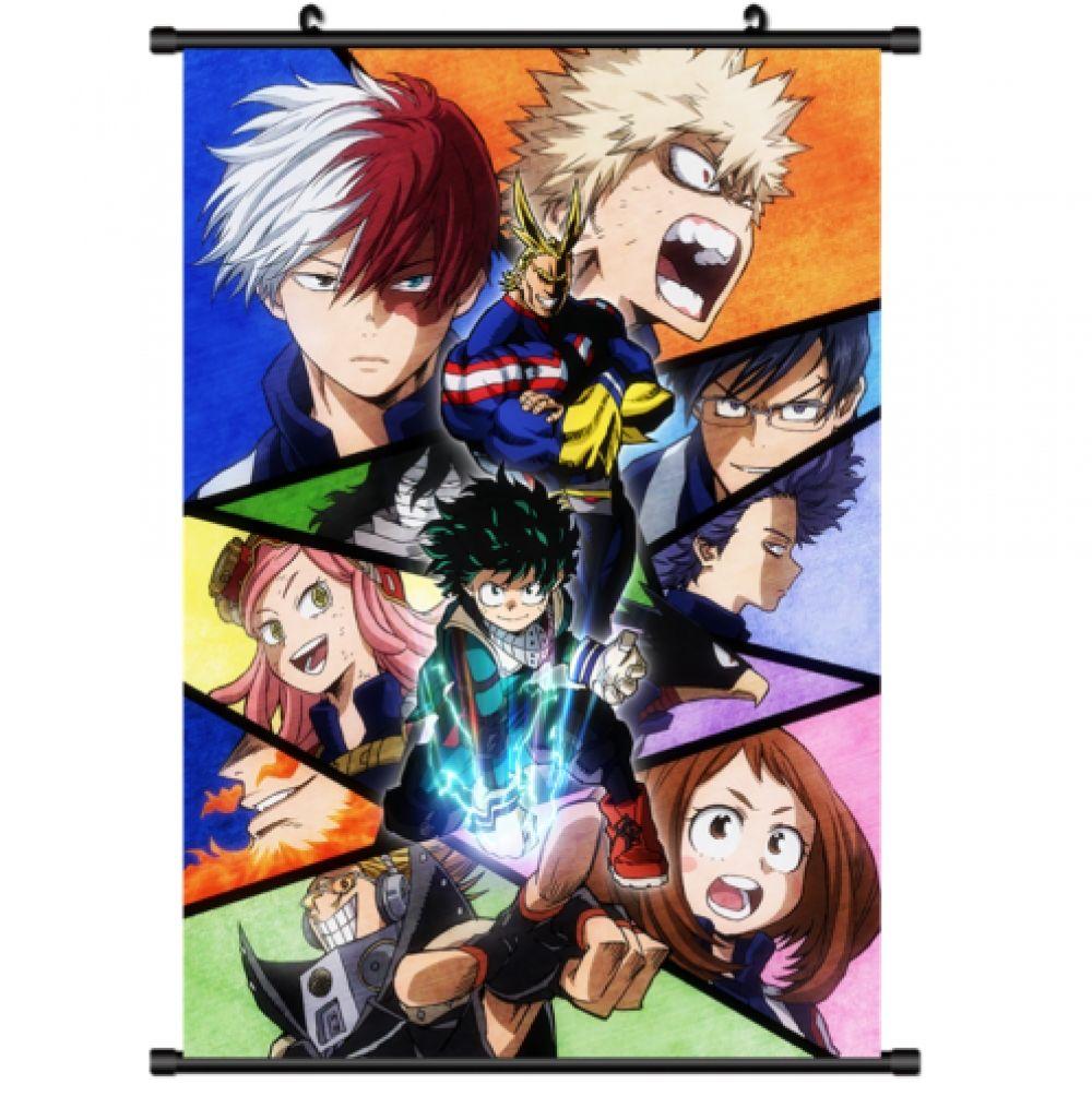 Anime Boku No Hero Academia My Hero Academia Wall Scroll Poster
