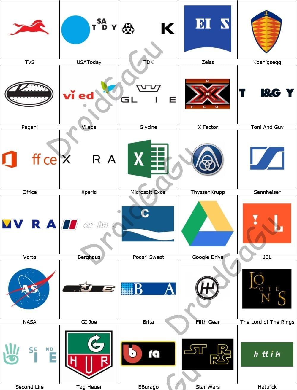 Level 15 Logo Quiz Answers Bubble Logo quiz answers