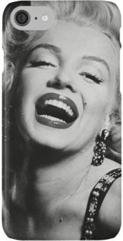 'Marilyn Monroe' iPhone Case by Romanoshko