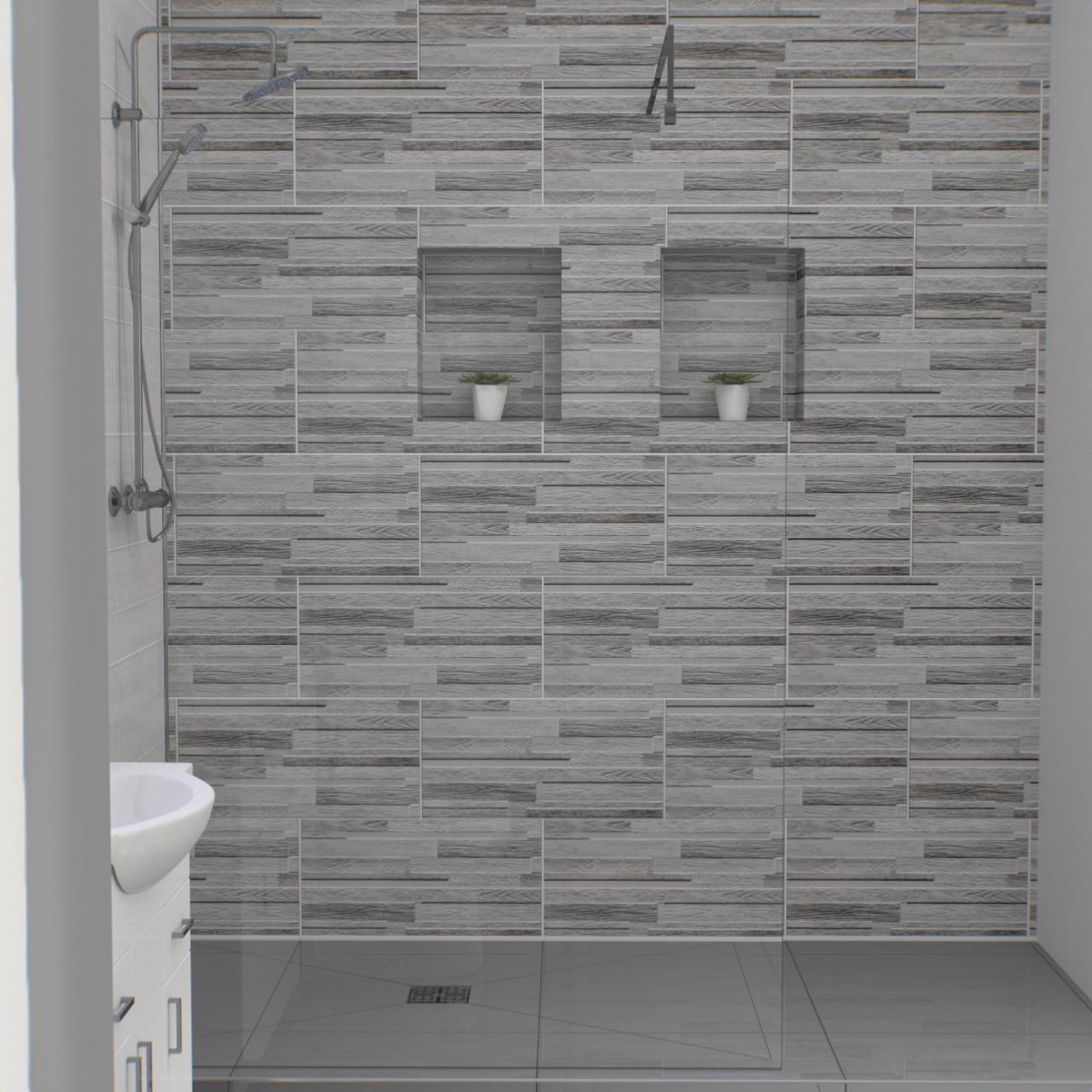 Wood Maina Grey 30cm X 60cm Porcelain Tile In 2020 Porcelain