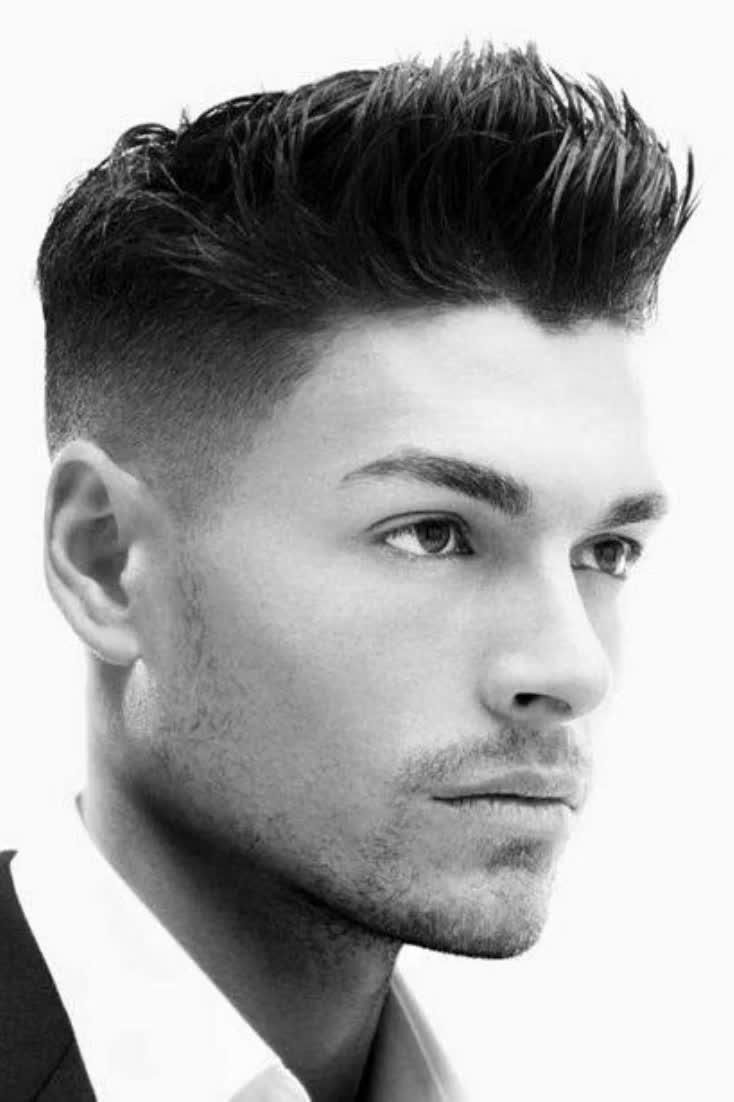 40 Spiky Hairstyles For Men - Bold And Classic Hai