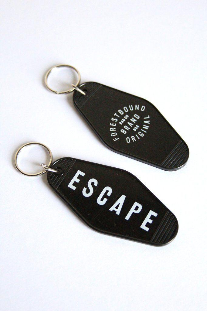 Escape Key Tag Key Tags Cute Car Accessories Car Keychain