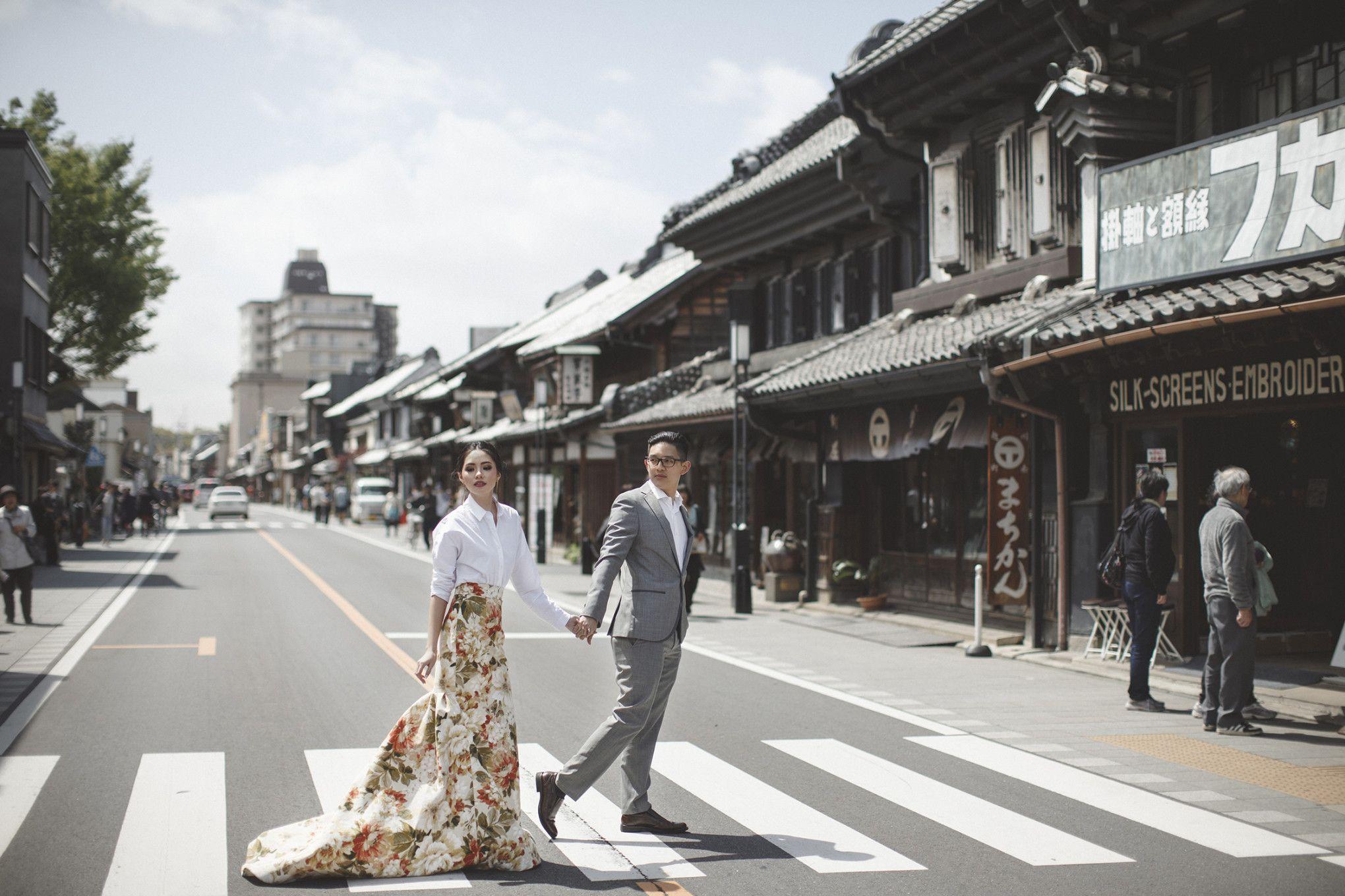 Olivia Lazuardy And Kalvin S Pre Wedding Shoot In Japan 002 Foto Perkawinan Fotografi Perkawinan Fotografi - Perkawinan Zebra, Chimera Dan 18 Hewan Kawin Silang Beda Spesies Yang Berhasil Halaman 2