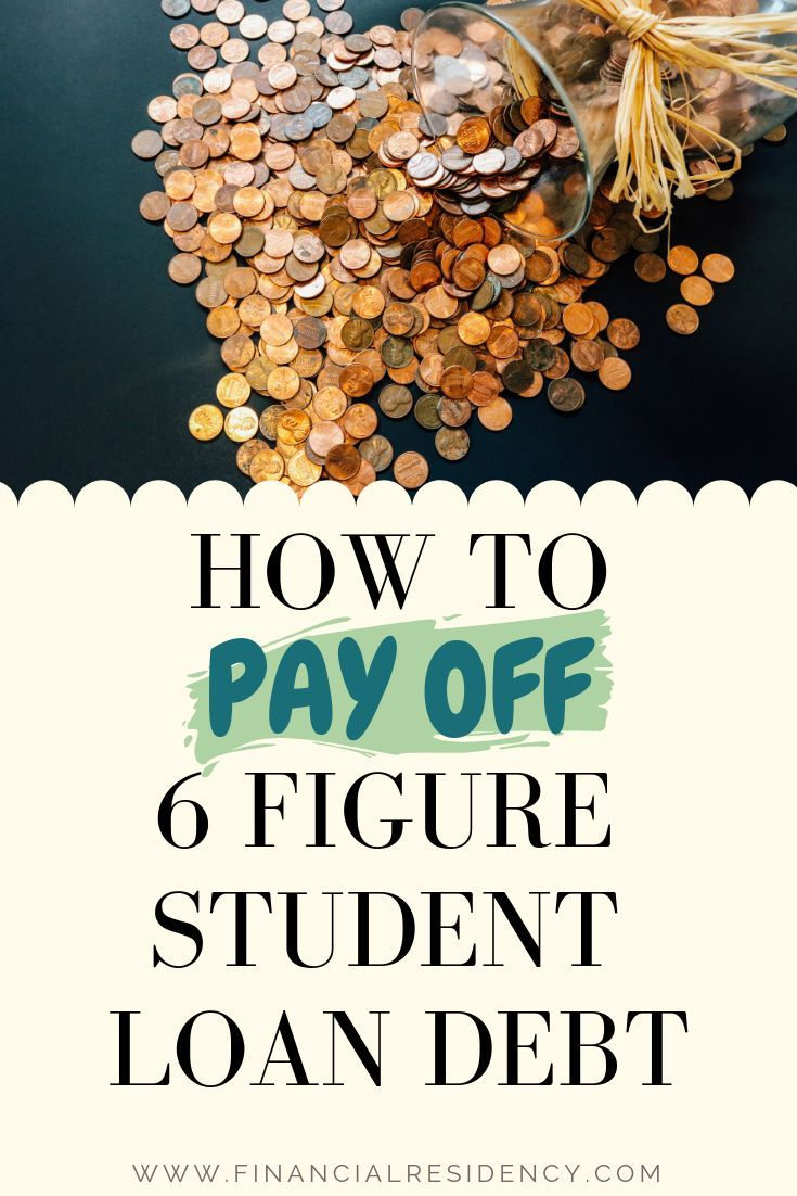 How to take your student loan debt from 6 figures to paid
