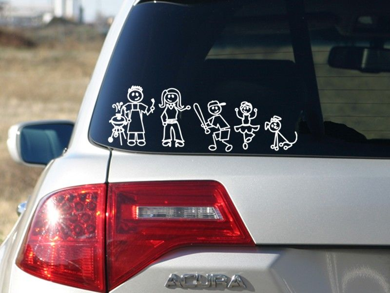 Custom family stickers familystickers com