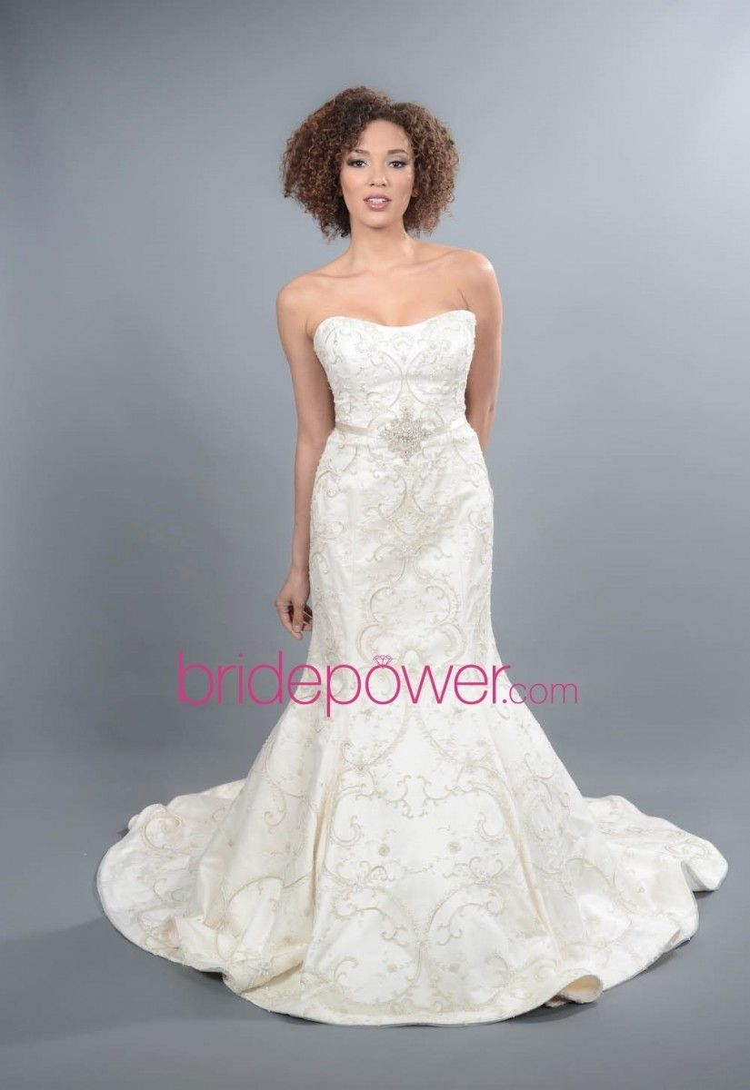 Lazaro Wedding Dress - 3262 | Trumpets, Wedding dress and Wedding