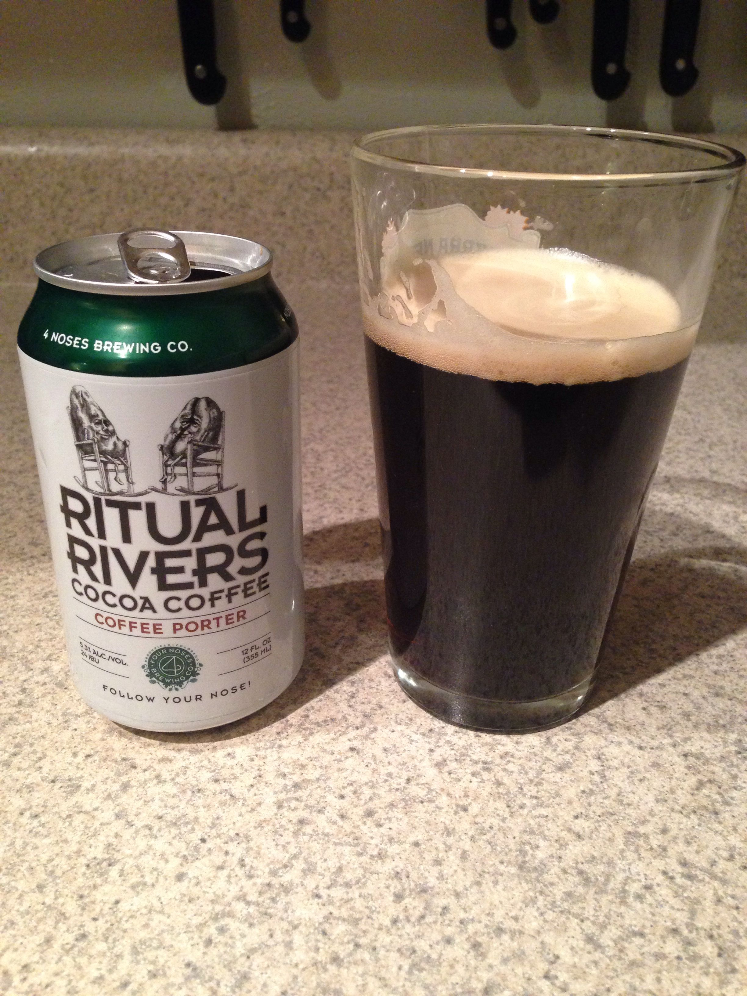 4 Noses Brewing Ritual Rivers Cocoa Coffee Porter