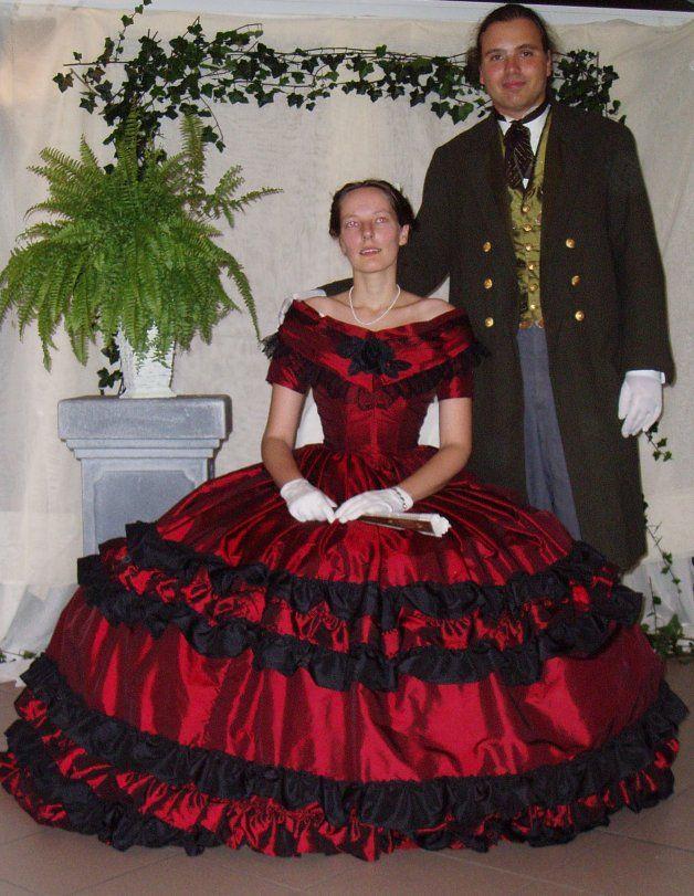Victorian 1860 ball gown by *DeredereGalbraith on deviantART Love ...