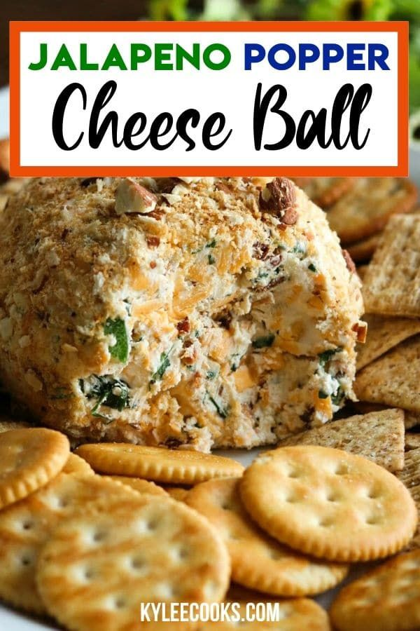 Photo of Jalapeno Popper Cheese Ball Recipe (with Video)