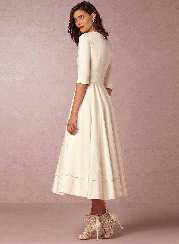 eb8110d7cab4 Silhouette  A-Line Sleeve Length  Half Sleeve Sleeve Types  Regular Style   Elegant