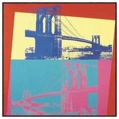 Brooklyn Bridge, 1983, $117, now featured on Fab.