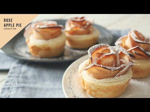 로즈 애플 파이 만들기,애플 타르트 레시피, 사과 파이 How to make Rose Apple