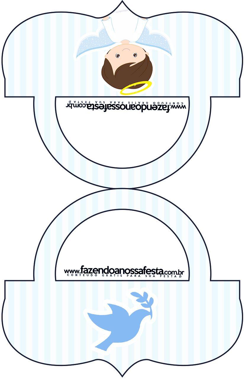 Lindas etiquetas para candy bar para imprimir gratis para tu fiesta de bello bautismo de ni o - Etiquetas comunion para imprimir en casa gratis ...