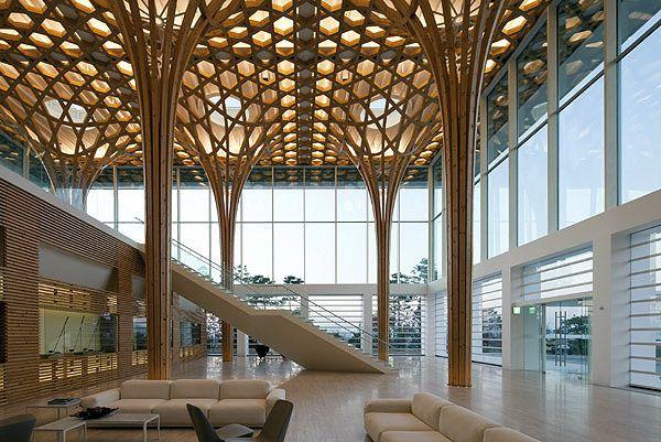 Project Haesley Nine Bridges Golf Club House Shigeru