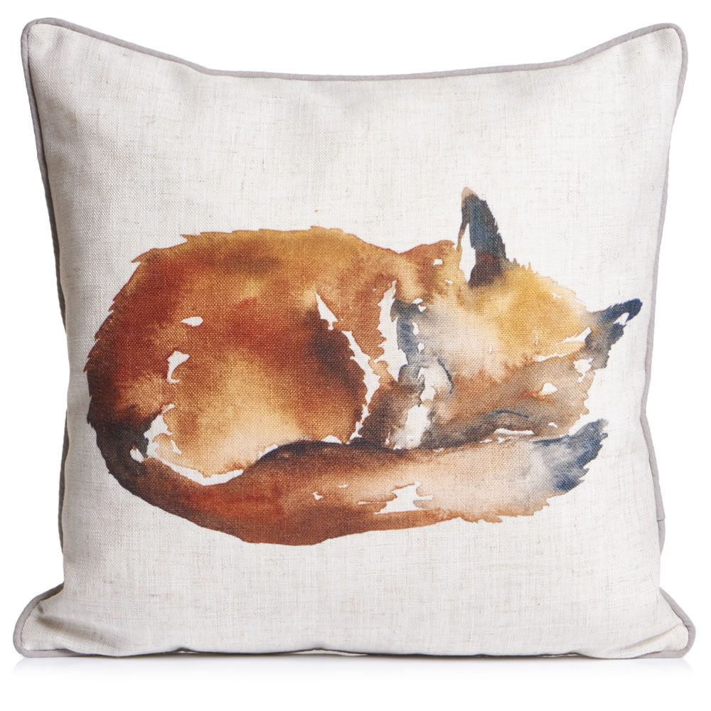 Wilko fox cushion 43x43cm home pinterest foxes bedrooms and room wilko fox cushion 43x43cm negle Choice Image