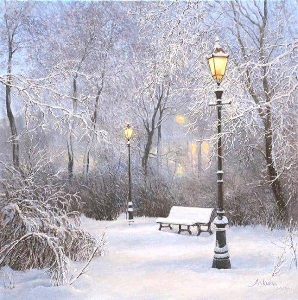 зимние фото пейзажи