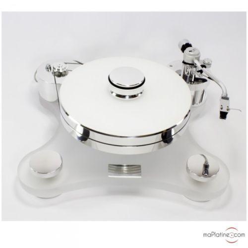 Platine-vinyle-manuelle-Transrotor-ZET-1-Couleur-Blanc