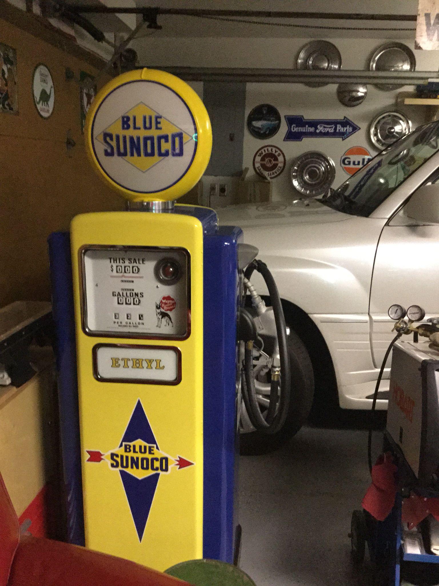 wayne model 100 gas pump sunoco