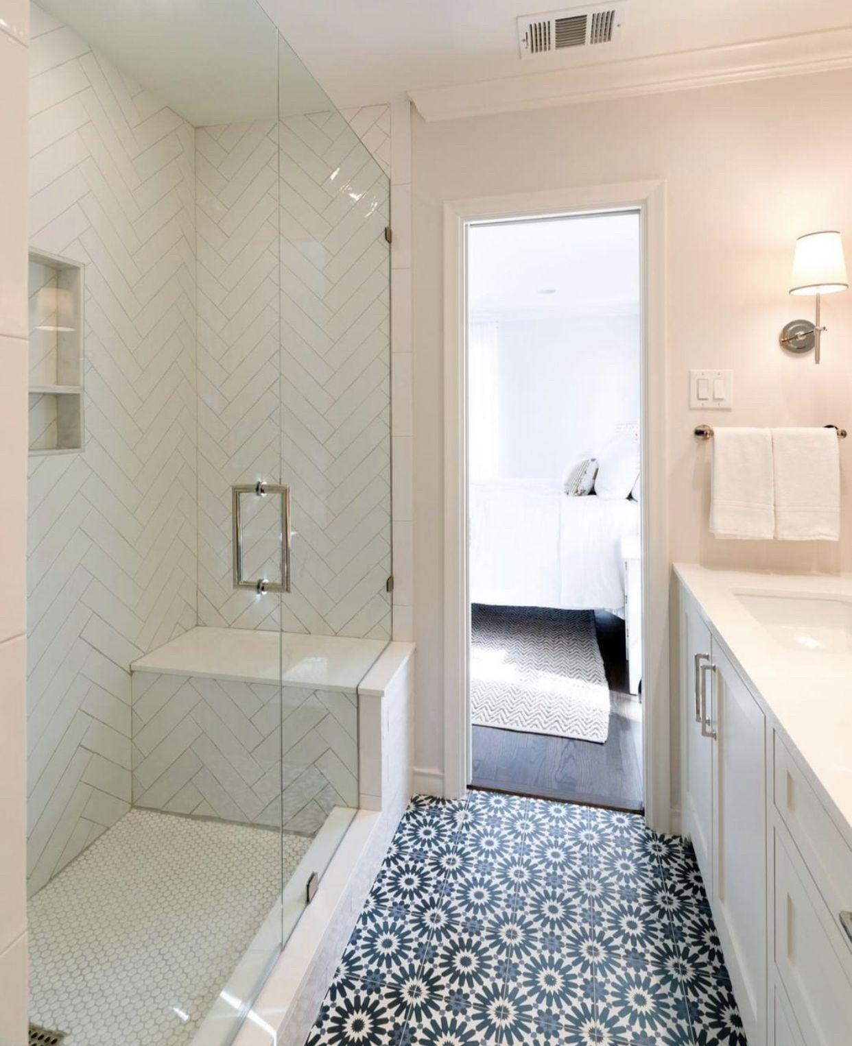 Riad Tile Cement Tile Erizo Blue Cement Tile Concrete Tiles Bathroom Cement Tiles Bathroom