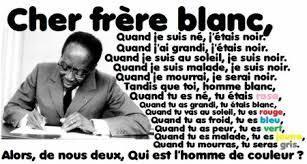 Poème Homme De Couleur De Léopold Sédar Senghor