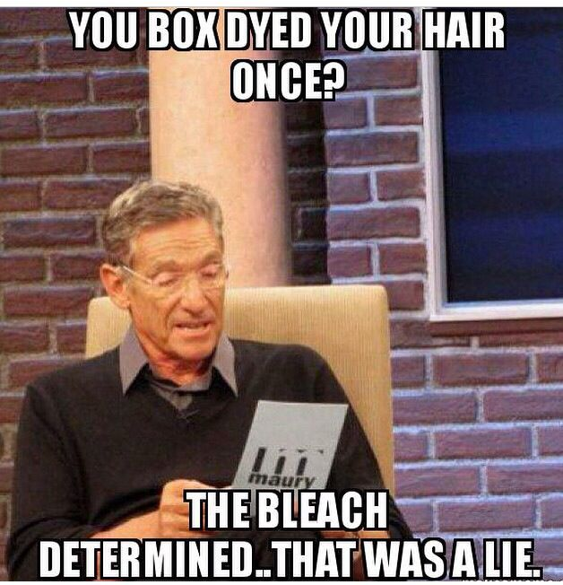 Hair Color Meme Funny Lol Cosmetologist With Images Teaching