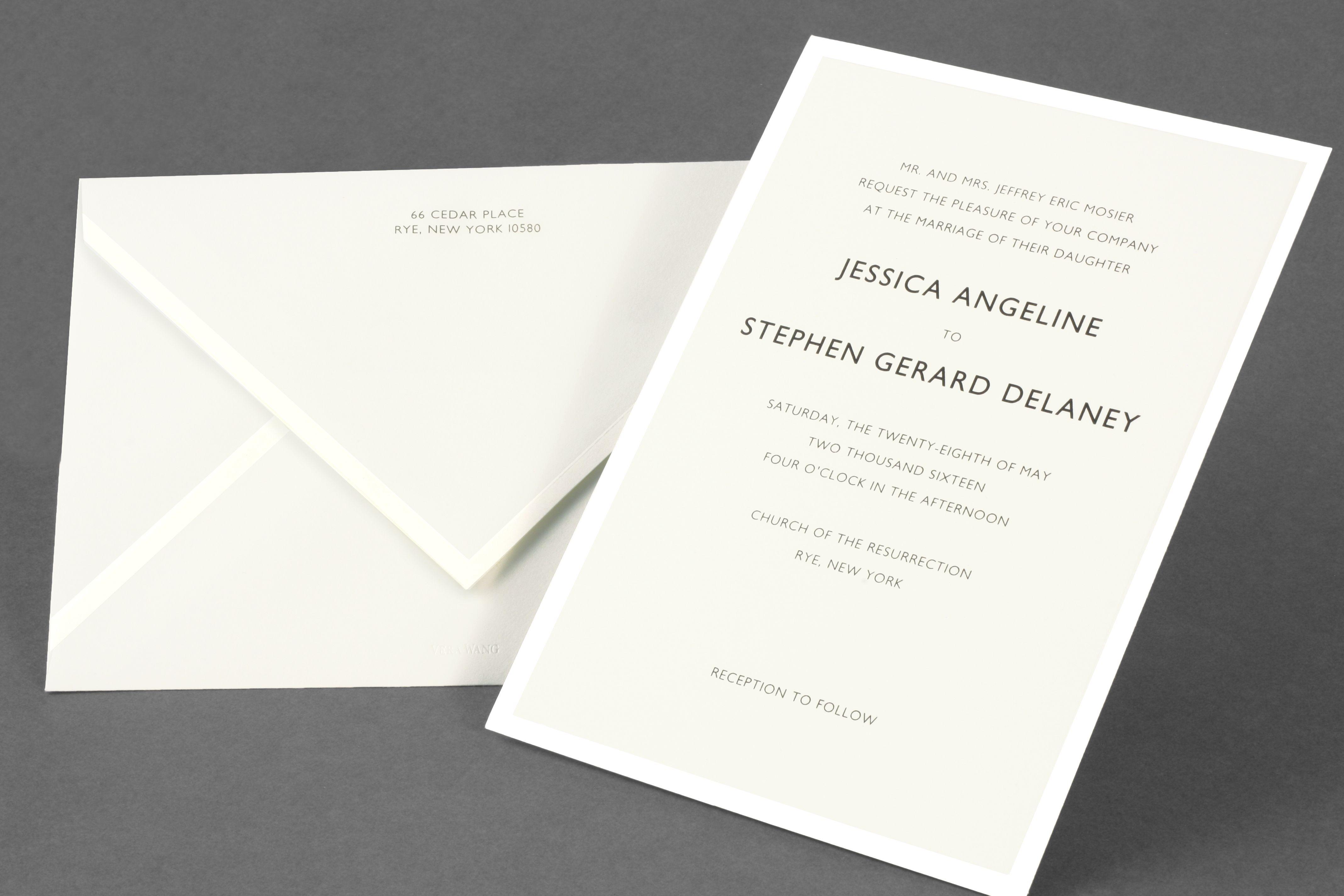 Vera Wang Wedding Invitations Hollowwoodmusic unitedarmyinfo