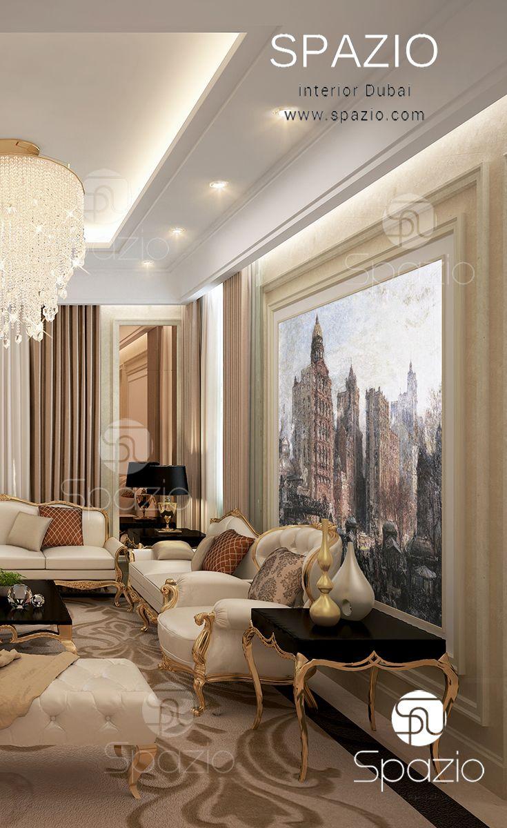 Arabic Bedroom Design Custom A Luxury Arabic Majlis Interior Design In Dubai The Uaeit's Inspiration Design