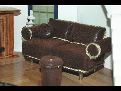 tutorial to make sofa couch pin outdoor diy modern miniature how