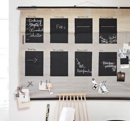 Tafelfarbe tipps zum selbermachen chalkboard calendar diy chalkboard chalkboard calendar solutioingenieria Gallery